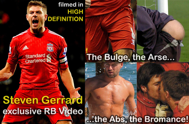 English footballing superstar Steven Gerrard