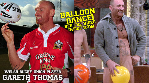 Gareth Thomas, former Welsh rugby union player